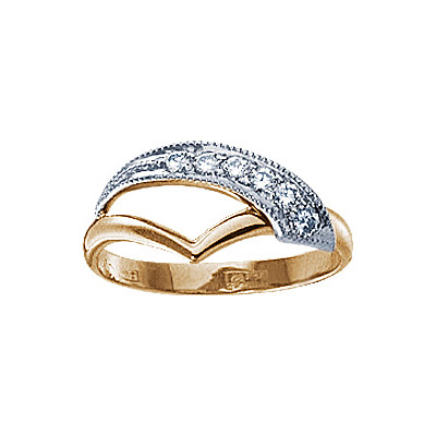 Золотое кольцо 17530RS фото