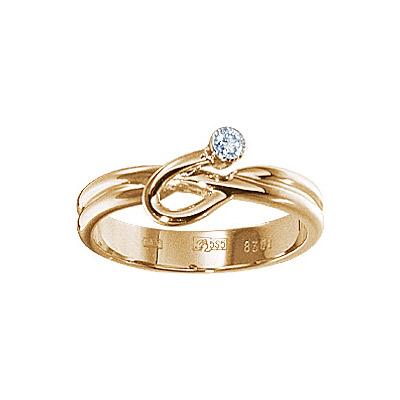 Золотое кольцо  17648RS