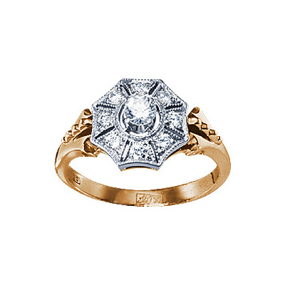Золотое кольцо  17715RS