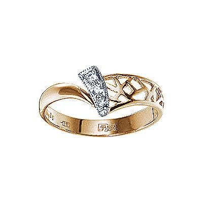 Золотое кольцо  17945RS