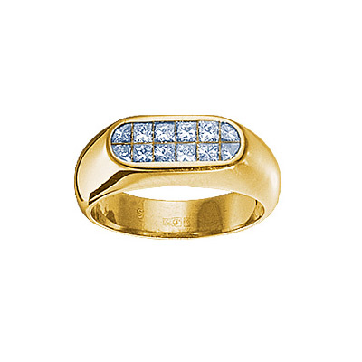Золотое кольцо 18049RS фото