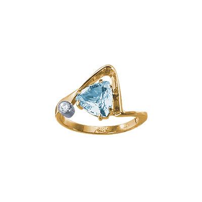 Золотое кольцо 18647RS фото