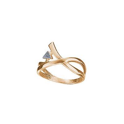 Золотое кольцо 67766RS фото