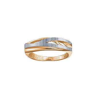 Кольцо. Материал: красное золото 585 пр. Средний вес: 3.6 гр.. - Золотое кольцо  67789RS