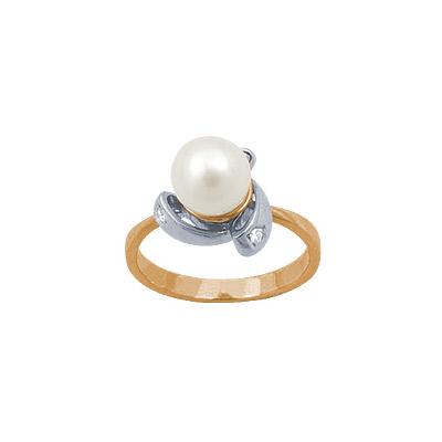 Золотое кольцо 90603RS фото