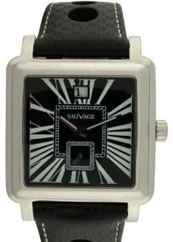Швейцарские наручные  мужские часы Sauvage SV02190SBK. Коллекци Swiss