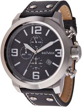 Швейцарские наручные  мужские часы Sauvage SV69132S. Коллекци Energy