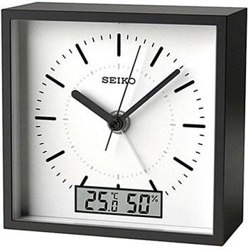 Настольные часы  Seiko Clock QHE089KL. Коллекция Интерьерные часы