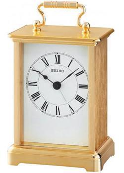 Настольные часы  Seiko Clock QHE093GL. Коллекция Интерьерные часы