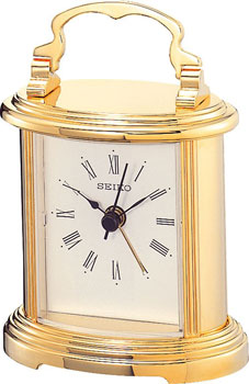 Настольные часы  Seiko Clock QHE109GN. Коллекция Интерьерные часы
