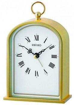 мужские часы Seiko Clock QHE162GN. Коллекция Настольные часы.