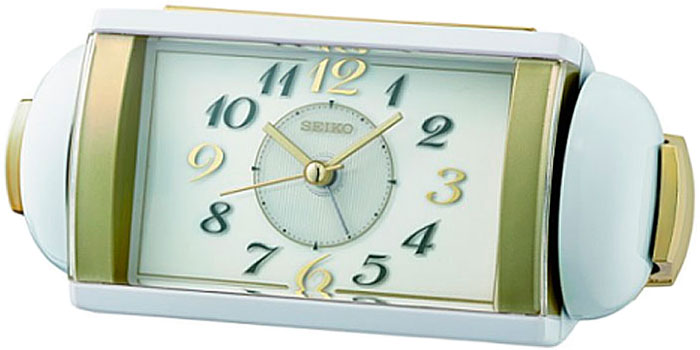 Будильник Seiko Clock QHK047WN. Коллекция Будильник.