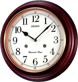 мужские часы Seiko Clock QXH202Z. Коллекция Настенные часы от Bestwatch.ru