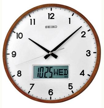 Настольные часы  Seiko Clock QXL008BN. Коллекция Интерьерные часы