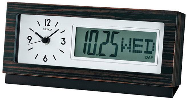 Настольные часы  Seiko Clock QXL011B. Коллекция Интерьерные часы