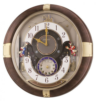Настольные часы  Seiko Clock QXM333B. Коллекция Интерьерные часы