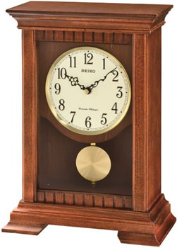 мужские часы Seiko Clock QXQ029BN. Коллекция Настольные часы