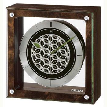 Настольные часы Seiko Clock QXV002ZN. Коллекция Интерьерные часы.
