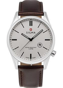 Швейцарские наручные мужские часы Sigma S005.110.02.02.1. Коллекция Кварцевые часы