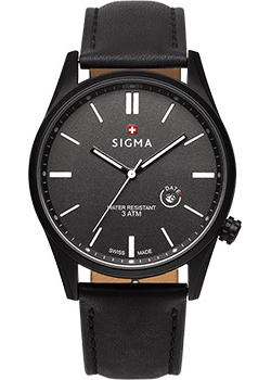 Швейцарские наручные мужские часы Sigma S005.110.03.01.2. Коллекция Кварцевые часы