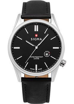 Швейцарские наручные мужские часы Sigma S005.111.01.02.2. Коллекция Кварцевые часы