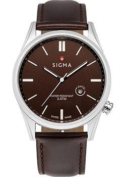 Швейцарские наручные мужские часы Sigma S005.410.04.02.2. Коллекция Кварцевые часы