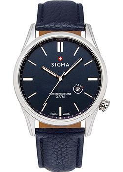 Швейцарские наручные  мужские часы Sigma S005.520.05.02.2. Коллекция Кварцевые часы