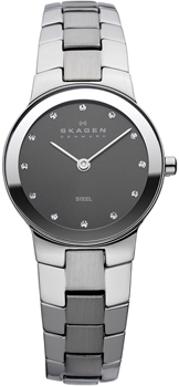 Швейцарские наручные  женские часы Skagen 430SMXM. Коллекция Links
