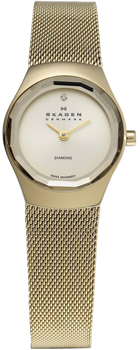 Швейцарские наручные  женские часы Skagen 432SGSG. Коллекция Mesh от Bestwatch.ru
