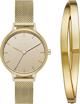 Швейцарские наручные  женские часы Skagen SKW1075. Коллекция Mesh