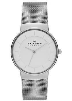 Швейцарские наручные  женские часы Skagen SKW2075. Коллекция Mesh