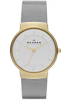 Швейцарские наручные  женские часы Skagen SKW2076. Коллекция Mesh