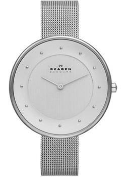 Швейцарские наручные  женские часы Skagen SKW2140. Коллекция Mesh