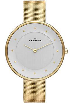 Швейцарские наручные  женские часы Skagen SKW2141. Коллекция Mesh