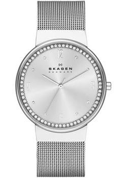Швейцарские наручные  женские часы Skagen SKW2152. Коллекция Mesh