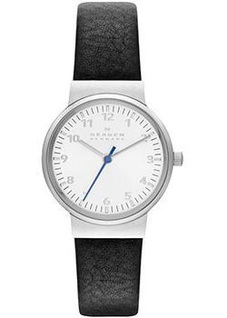 Швейцарские наручные  женские часы Skagen SKW2188. Коллекция Leather от Bestwatch.ru