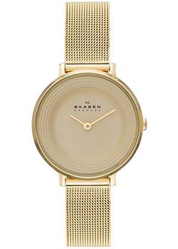 Швейцарские наручные  женские часы Skagen SKW2212. Коллекция Mesh от Bestwatch.ru