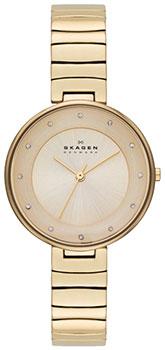 Швейцарские наручные  женские часы Skagen SKW2226. Коллекция Links.