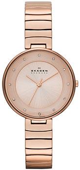 Швейцарские наручные  женские часы Skagen SKW2227. Коллекция Links от Bestwatch.ru