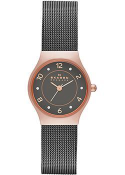 Швейцарские наручные  женские часы Skagen SKW2270. Коллекция Mesh