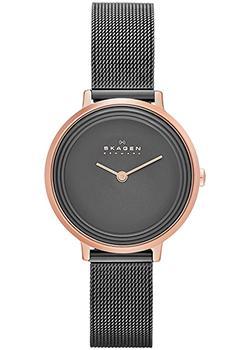 Швейцарские наручные  женские часы Skagen SKW2277. Коллекция Mesh