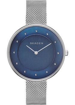 Швейцарские наручные  женские часы Skagen SKW2293. Коллекция Mesh