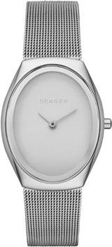 Швейцарские наручные  женские часы Skagen SKW2297. Коллекция Mesh от Bestwatch.ru