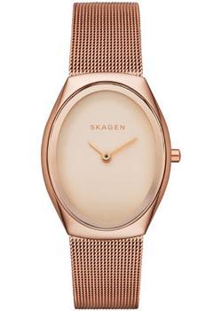 Швейцарские наручные  женские часы Skagen SKW2299. Коллекция Mesh