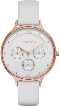 Купить Часы женские Швейцарские наручные  женские часы Skagen SKW2311. Коллекция Leather  Швейцарские наручные  женские часы Skagen SKW2311. Коллекция Leather