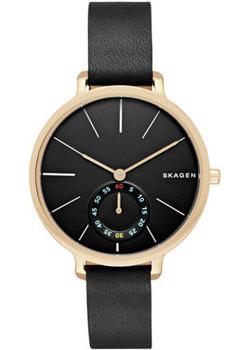 Швейцарские наручные женские часы Skagen SKW2354. Коллекция Leather фото