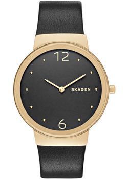 Швейцарские наручные  женские часы Skagen SKW2370. Коллекция Leather