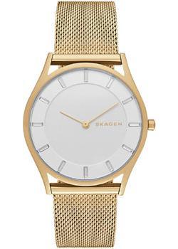 Швейцарские наручные  женские часы Skagen SKW2377. Коллекция Mesh