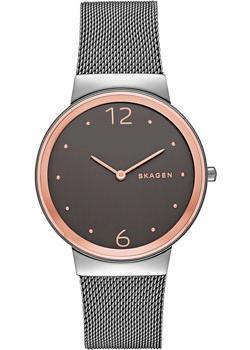 Швейцарские наручные  женские часы Skagen SKW2382. Коллекция Mesh