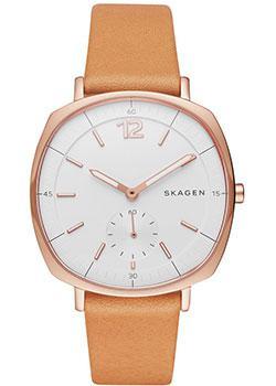Швейцарские наручные  женские часы Skagen SKW2418. Коллекция Leather